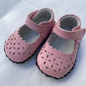 NEW Pediped Katelyn Soft Sole Baby Shoes Pink